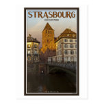 Strasboug - río y St Thomas enfermos Tarjetas Postales