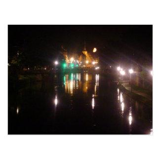Strasbourg by night tarjeta postal