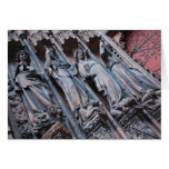 Strasbourg Cathedral Detail Stationery Note Card