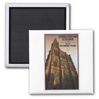 Strasbourg - Cathedral Notre Dame Fridge Magnet
