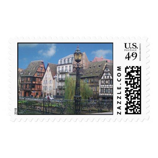 Strasbourg France Postage