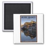 Strasbourg - Ill River Reflections Fridge Magnet