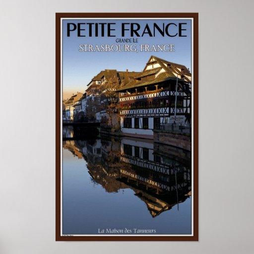 Strasbourg - Ill River Reflections Print