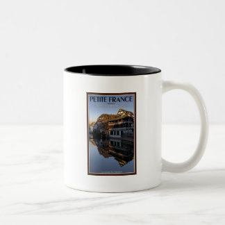 Strasbourg - Ill River Reflections Two-Tone Coffee Mug