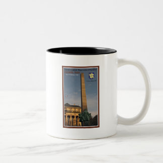 Strasbourg - Monument to Marechal Leclerc Two-Tone Coffee Mug