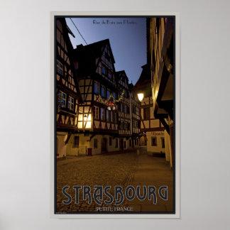 Strasbourg - Petite France Early Morning Poster