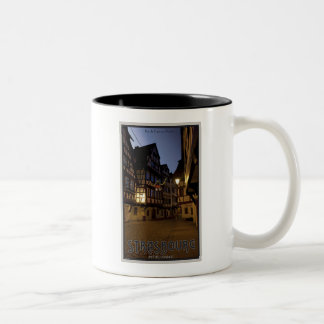 Strasbourg - Petite France Early Morning Two-Tone Coffee Mug