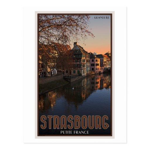 Strasbourg - Petite France Sunrise Postcard