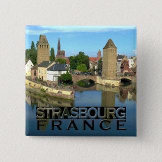 Strasbourg Pinback Button