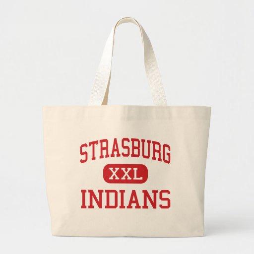Strasburg - Indians - High - Strasburg Colorado Tote Bag