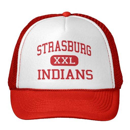 Strasburg - Indians - High - Strasburg Colorado Mesh Hats