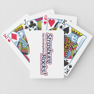 Strasburg Rocks! Bicycle Playing Cards
