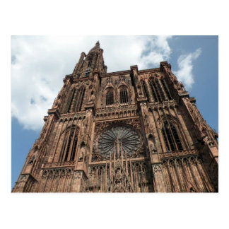 Strassburg Cathedral Postcard