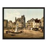 Strassburg, general view,  Alsace Lorraine, German Postcard