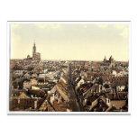 Strassburg, general view,  Alsace Lorraine, German Postcards