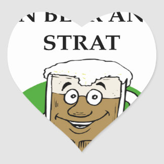 STRAT HEART STICKER