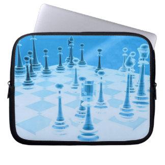 Strategic Chess Play Electronics Bag Laptop Sleeves