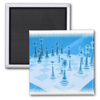 Strategic Chess Play Magnet Fridge Magnets