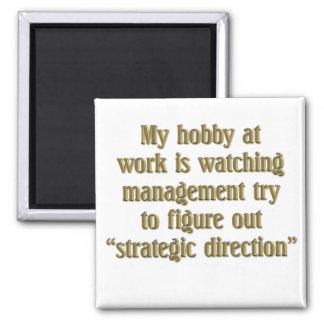 Strategic Direction 2 Inch Square Magnet