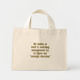 Strategic Direction Mini Tote Bag