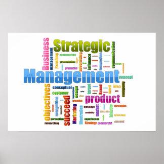 Strategic Management Design Poster