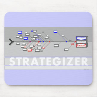 Strategizer mouse pad