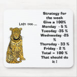 Strategy for the week Give a 100% Mouse Mat