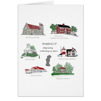 Stratford 375 in Color Greeting Card