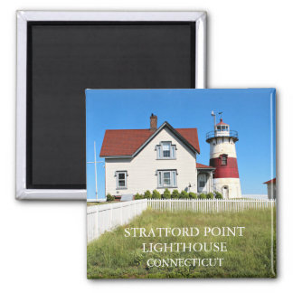 Stratford Point Lighthouse, Connecticut Magnet