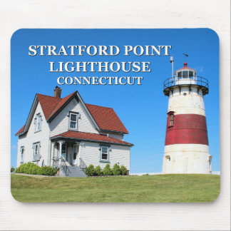 Stratford Point Lighthouse, Connecticut Mousepad