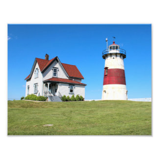 Stratford Point Lighthouse, Connecticut Photo Print