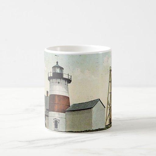 Stratford Point Lighthouse Classic White Coffee Mug