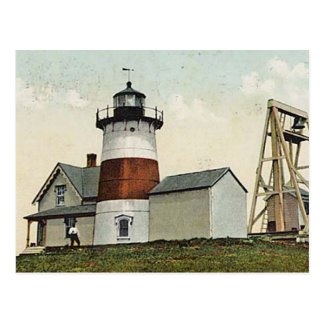 Stratford Point Lighthouse Postcard
