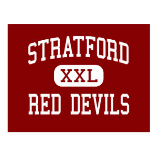 Stratford - Red Devils - High - Stratford Postcard