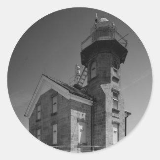 Stratford Shoal Lighthouse Classic Round Sticker