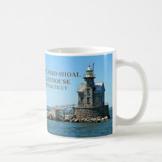Stratford Shoal Lighthouse, Connecticut Coffee Mug