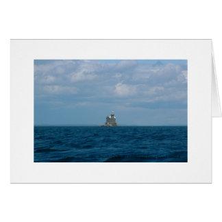Stratford Shoal Lighthouse, Long Island Sound Card