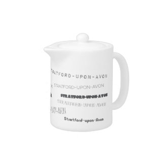 Stratford Upon Avon Place Name Teapot