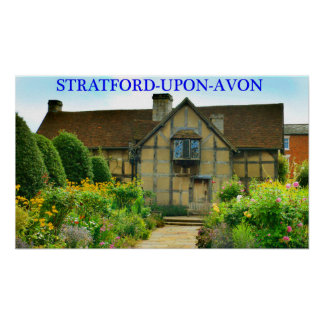 stratford-upon-avon poster