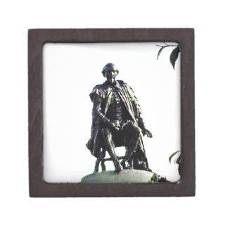 Stratford-upon-Avon Shakespeare Statue jGibney Gift Box