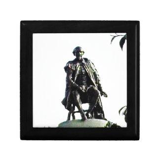 Stratford-upon-Avon Shakespeare Statue jGibney Keepsake Box