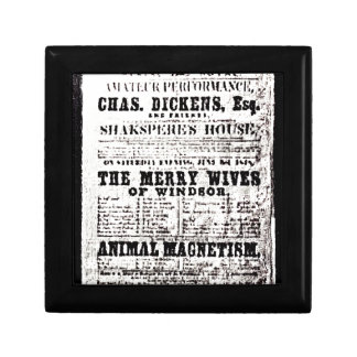 Stratford-upon-Avon Shakespeare's Artifacts3 jGib Keepsake Box
