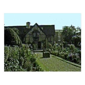 Stratford-upon-Avon Shakespeare's Birthplace jGibn Postcard