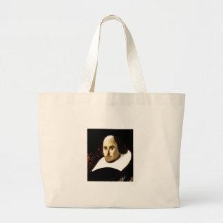Stratford-upon-Avon Shakespeare's Portrait jGibne Jumbo Tote Bag