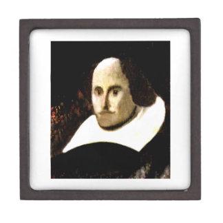 Stratford-upon-Avon Shakespeare's Portrait jGibne Keepsake Box