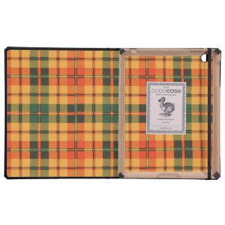Strathearn clan Plaid Scottish tartan iPad Cover