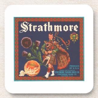 Strathmore Brand Vintage Crate Label Coaster