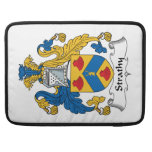 Strathy Family Crest MacBook Pro Sleeves