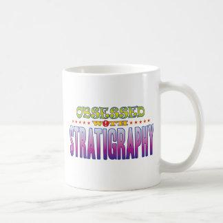 Stratigraphy 2 Obsessed Classic White Coffee Mug