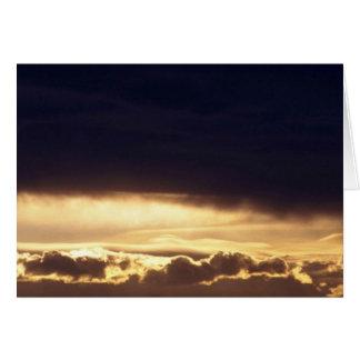Stratocumulus hermoso tarjeta